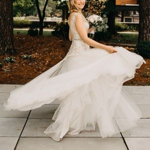 Sottero & Midgley Wedding Gown & Cathedral Veil